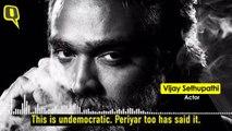 Rajinikanth Lauds, Vijay Sethupathi Slams Article 370's Revocation