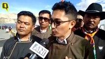 Ladakh MP Jamyang Tsering Leads Charge As UT Celebrates Independence Day