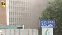 Fire Breaks Out Near Emergency Ward at AIIMS, Patients Shifted