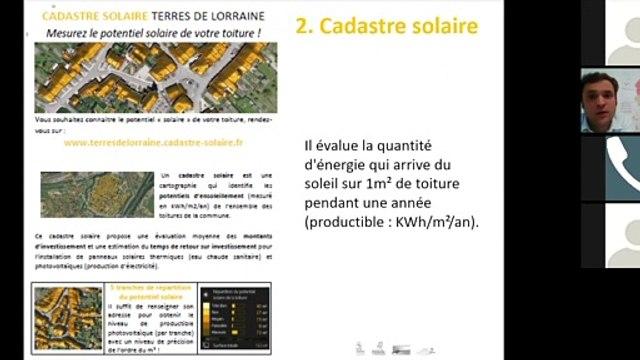 Web-séminaire TEPOS : en Terres de Lorraine, la transition énergétique est l'affaire de tous ! 2/3