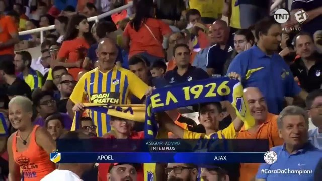 LIVE: APOEL vs Ajax 0-0 - Highlights & Goals Resumen & Goles 20/08/2019 HD