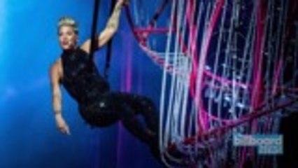 P!nk's Beautiful Trauma World Tour Grosses $397.3M | Billboard News