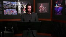 Keanu Reeves : behind the scenes of Toy Story 4