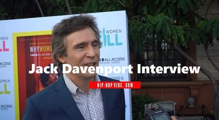 """HHV Exclusive: Jack Davenport talks """"Why Women Kill"""" role, playing Karl Grove, and more"""