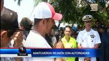 Pescadores artesanales suspendieron paro de actividades