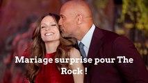 """Dwayne """"The Rock"""" Johnson s'est marié en surprise à Hawaï"""