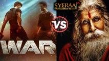 Farhan Akhtar On CLASH With Hrithik Roshan's WAR | Sye Raa Narasimha Reddy Teaser Launch