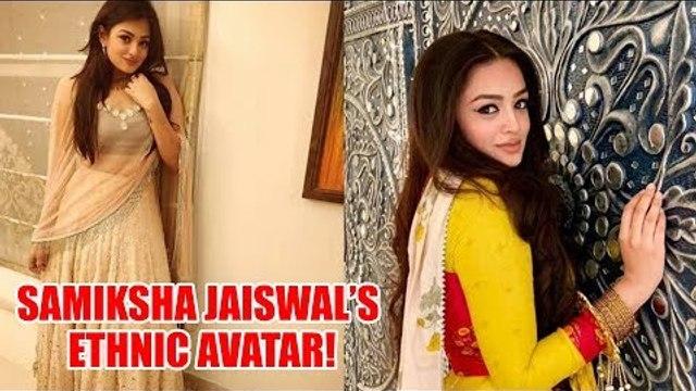 Bahu Begum Actress Samiksha Jaiswal's ethnic avatar!
