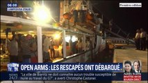 L'explosion de joie des migrants bloqués sur l'Open Arms après avoir été autorisés à débarquer sur l'île de Lampedusa
