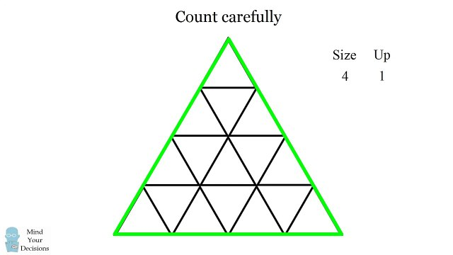 How Many Triangles Are There Learn The Formula For Any Size! -