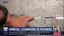 Les épisodes caniculaires et la sécheresse ont provoqué des fissures dans les logements en Seine-et-Marne