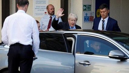 Passe d'armes entre Boris Johnson et les Européens avant Berlin