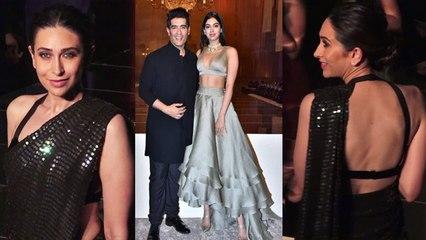 Karishma Kapoor Stuns with Khushi Kapoor in Lakme Fashion Week 2019; Watch video | FilmiBeat