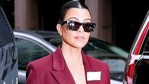 Kourtney Kardashian Slams Troll Who Says She Doesn't Work!