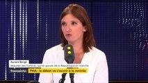 """Aurore Bergé : """"Il faut pouvoir retrouver de la sérénité pour pouvoir réformer"""""""