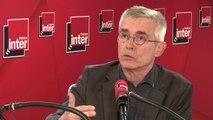 """Yves Veyrier sur le chômage : """"Que la tendance soit à l'amélioration, tant mieux. Mais il faut regarder l'ensemble des chiffres. Il y a encore beaucoup trop de précarité"""""""