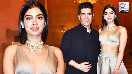 Khushi Kapoor Turned Many Heads At Manish Malhotra's Fashion Show