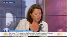 """Agnès Buzyn affirme que la réforme prévoit une retraite minimum de 1000 euros """"pour les gens qui auront travaillé toute leur vie"""""""