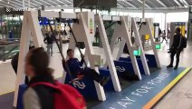 Faittes de la balançoire pour charger votre iPhone aux Pays-Bas