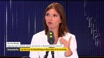 """PMA : """"Personne n'a intérêt à revivre les mêmes termes que pour le débat sur le mariage pour tous"""", selon Aurore Bergé"""