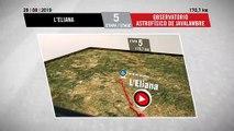 Perfil Etapa 5 - Stage 5 Profile | La Vuelta 19