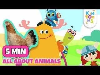 #ReadAlong - Animal Song   Old MacDonald & Row Row Row   Nursery Rhymes & Baby Songs   KinToons