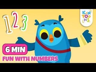 Ten In The Bed & Five Little Ducks - Number Song   Nursery Rhymes & Baby Songs   KinToons