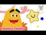 Bedtime Songs For Kids - Twinkle Twinkle Little Star | Nursery Rhymes & Baby Songs | KinToons
