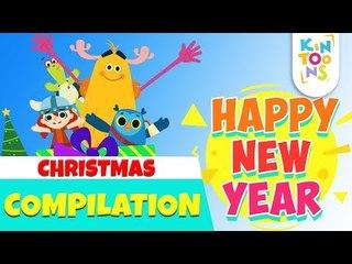 Christmas Carols - Silent Night + Lots More | Christmas Songs | Nursery Rhymes For Kids | KinToons