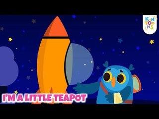 I'm A Little Teapot    Sing & Dance   Nursery Rhymes & Baby Songs   KinToons