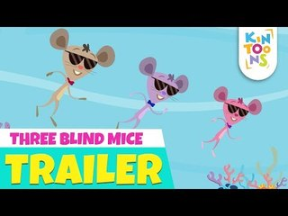 Three Blind Mice  - Official Trailer   Releasing 29th July   Nursery Rhymes   KinToons