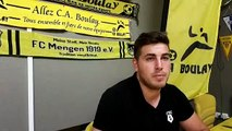 Régis Giraldo,  gardien du CA Boulay en Régional 1, fait le point avant le début de saison