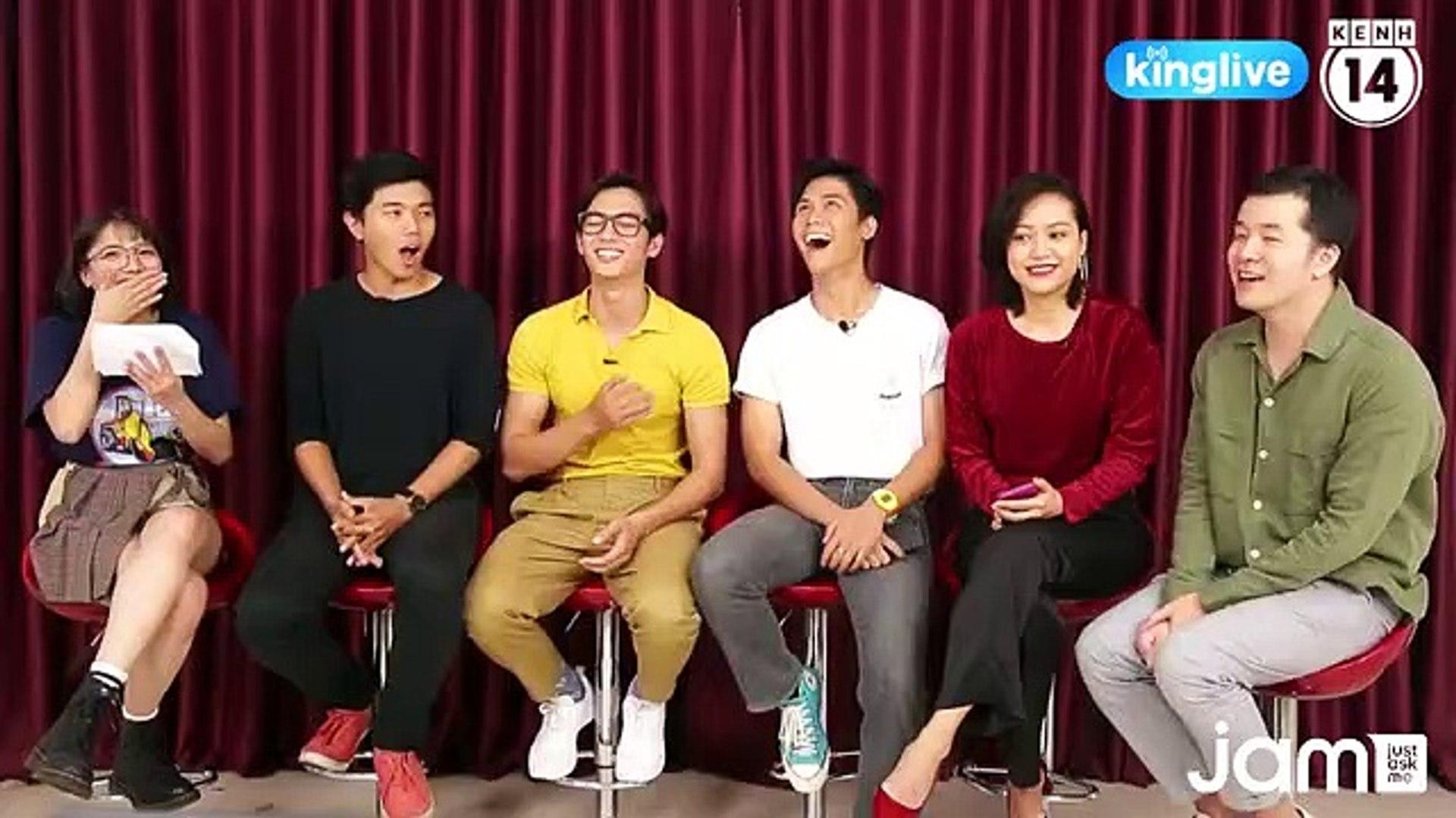 """[JAM] Ekip phim """"Thưa mẹ con đi"""" đã có mặt để giao lưu, trò chuyện trực tiếp với (online-video-cutte"""