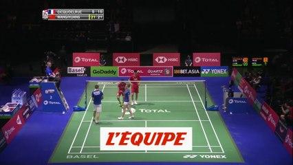 Delrue et Gicquel éliminés - Badminton - Mondiaux