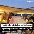 Les migrants du navire humanitaire Open Arms autorisés  à débarquer à Lampedusa