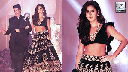Katrina Kaif Stuns In lehenga For Manish Malhotra At Lakme Fashion Week