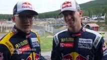 Hansen Brothers Battle Head to Head For Rallycross Glory In Sweden | WRX 2019