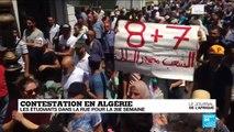 Algérie : Les étudiants toujours plus nombreux dans la rue pour la 26e semaine