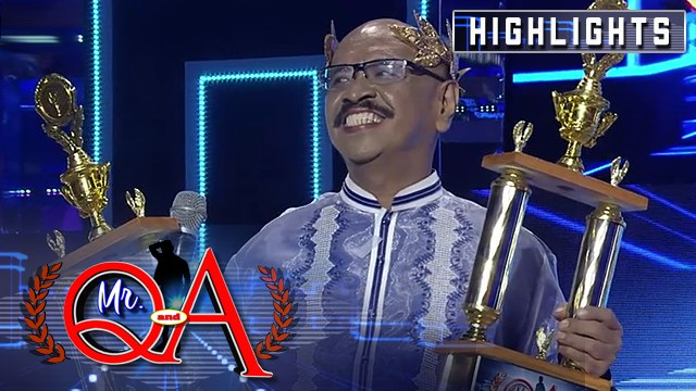 Toti Sandoval wins his second Mr. Q and A trophy | It's Showtime Mr Q and A