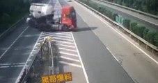 Un camion s'est trompé de sortie et fait demi-tour sur l'autoroute !