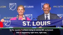 FOOTBALL: MLS: St Louis awarded expansion franchise