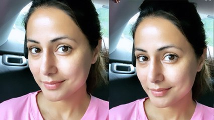 Hina Khan kick starts Vikram Bhatt's Film, She shares selfie to announcing this | FilmiBeat