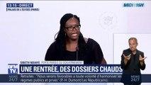 """Sibeth Ndiaye: le Président a incité le gouvernement """"à avoir beaucoup de détermination à mener les réformes"""""""