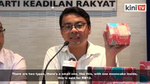 'Buy this mooncake, to remind PKR leaders of election promises'