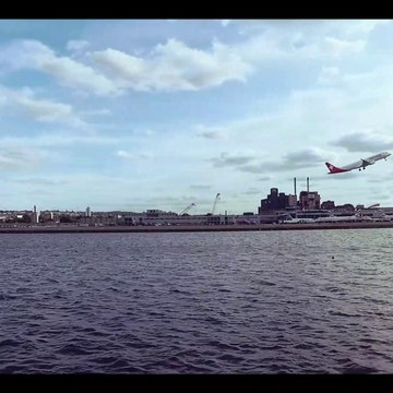 Runway View Of London City Airport (LCY)