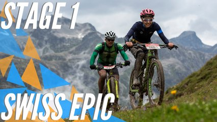 Home duo dominates opening day   Swiss Epic 2019: Stage 1