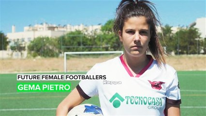 Voetbalster Gema Prieto heeft torenhoge ambities