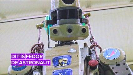 De nieuwste russische ruimtevaarder is een robot