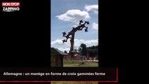 Allemagne : un manège en forme de croix gammées ferme (vidéo)