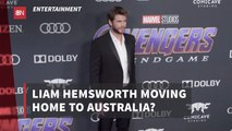 Liam Hemsworth Needs Out Of California